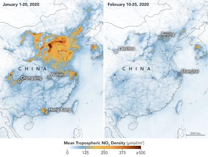 China Pollution Comparison